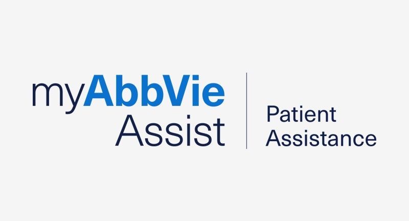 My AbbVie Assist and Patient Assistance Logo on White Background